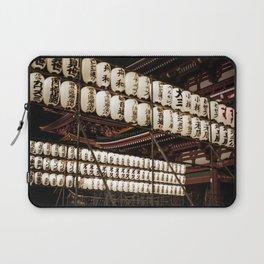 Asakusa sensoji at night 001 Laptop Sleeve