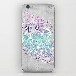 Glam fashion owls iPhone Skin