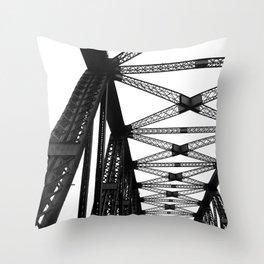 The Brigde Throw Pillow