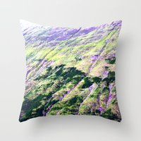 geology Throw Pillows featuring geology. by zenitt