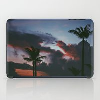 palm tree iPad Cases featuring PALM  by DAY OLD BLUES
