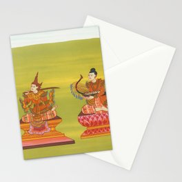 17 Tabn Shwed nat (King of Toungoo Dynasty of Burma) and 18 Minye Aungdin nat (Husband of Princess S Stationery Cards