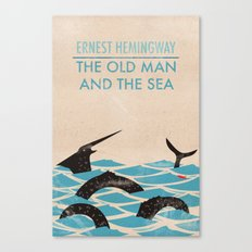 The Old Man and the Sea Canvas Print