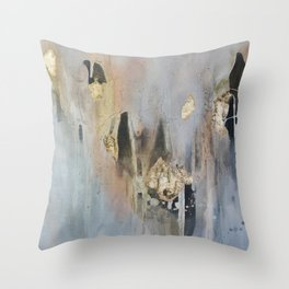 Over Black 3 Throw Pillow