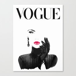 Vogue Canvas Print