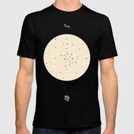 Virgo - Black T-shirt