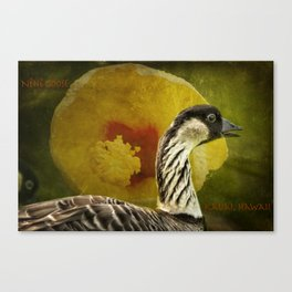 Nene Goose Canvas Print