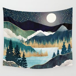 Star Lake Wall Tapestry