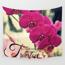 Orchid inspiration quote #1 Wall Tapestry