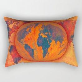 World on fire - 218 Rectangular Pillow