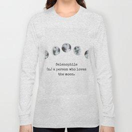 Selenophile Long Sleeve T-shirt