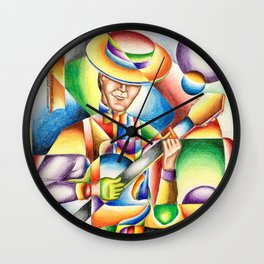 Jazz At Point Ybel Wall Clock