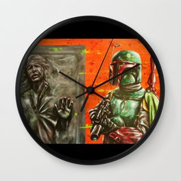 """ He's no good to me dead."" Wall Clock"