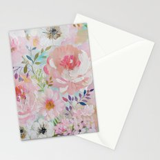 Acrylic rose garden  Stationery Cards