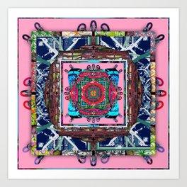 framed p7 Art Print