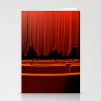 theatre Stationery Cards featuring Classic Theatre by creations by Cinnamon