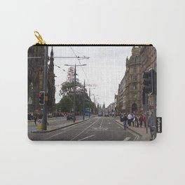 Buses along Princes Street Edinburgh Carry-All Pouch