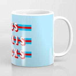 Baseketball Dreams (Rule of Threes) Coffee Mug
