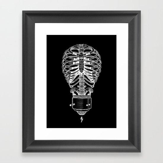 The Concept of Death Framed Art Print