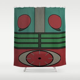 Kamen Rider Ichigo Shower Curtain