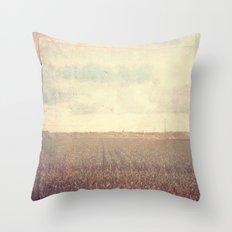 Vintage Sunday Throw Pillow