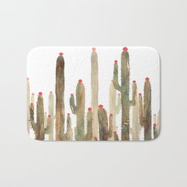 Autumn Cactus 4 Bath Mat