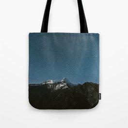 Annapurna Himalayas Tote Bag