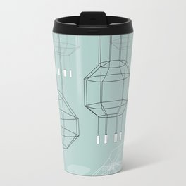 Geo Chandeliers - Green Travel Mug