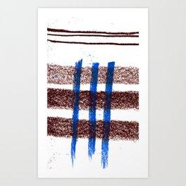 together | separate 02 Art Print