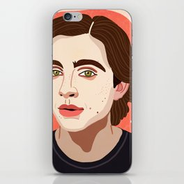 Timothee Chalamet iPhone Skin