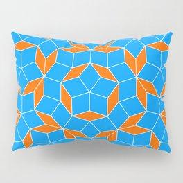 Penrose Tiling Pattern Pillow Sham