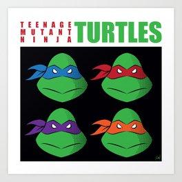 Meet the Turtles! Art Print