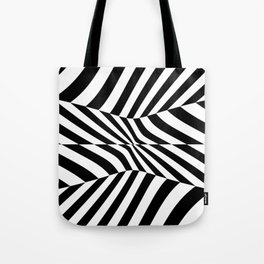 Black and white vision by lh Tote Bag