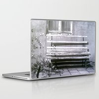 jewish Laptop & iPad Skins featuring Many quiet moments to rest by Brown Eyed Lady