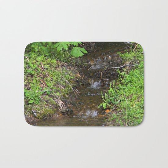 Tiny lil creek... Bath Mat