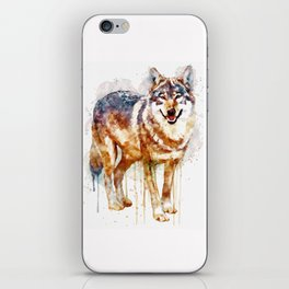 Alpha Wolf iPhone Skin