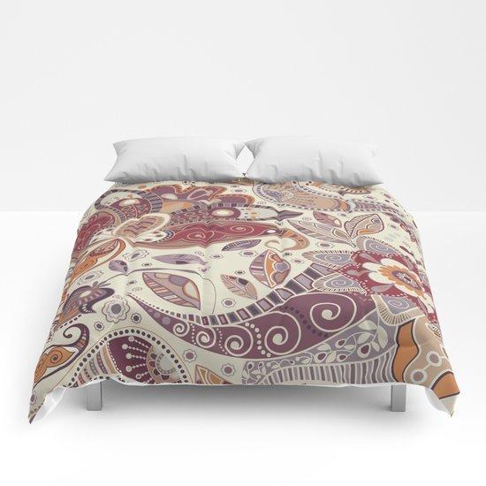 Shabby flowers #30 Comforters