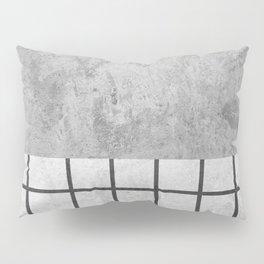Concrete Design Pillow Sham