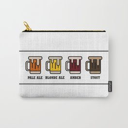 Beer Types Carry-All Pouch