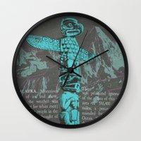 alaska Wall Clocks featuring Alaska by Last Call