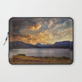 Island Lake - Beartooth Mountains, WY Laptop Sleeve