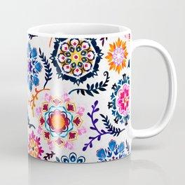 Happy Color Suzani Inspired Pattern Coffee Mug