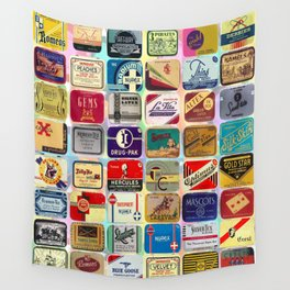 Antique Condoms Wall Tapestry