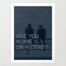 mr.robot_eps1.1_ones-and-zer0es.mpeg Art Print