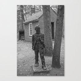 Henry David Thoreau House Walden Pond Concord MA Canvas Print