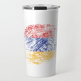 It's In My Dna Armenian Flag Vintage Armenia Gift Travel Mug