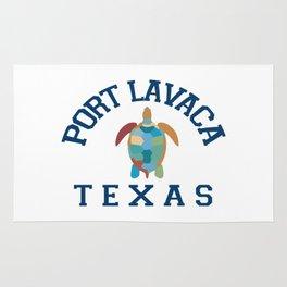 Port Lavaca Texas. Rug