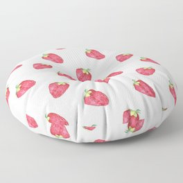 Fraise Floor Pillow