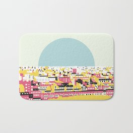 Rooftop view Bath Mat