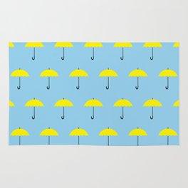 HIMYM Yellow Umbrella Rug